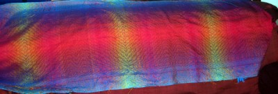 View of the full shawl.
