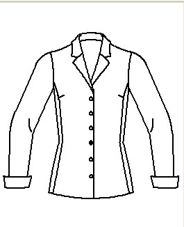 Computer generated image of the coat