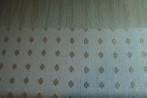 Handwoven eternity knot pattern
