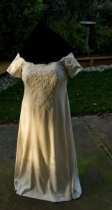 handwoven wedding dress