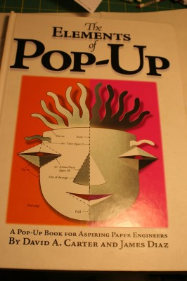 """Cover, """"The Elements of Pop-Up"""""""