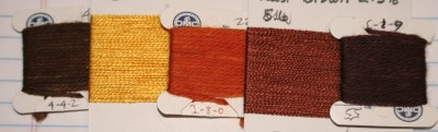 1st attempt at colors for tiger eye yardage