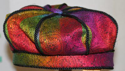 Rainbow hat!