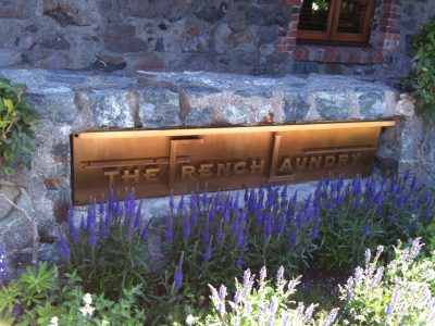 The French Laundry sign