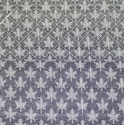 maple leaves, woven