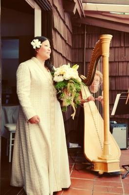 At the wedding!