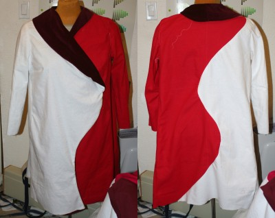 Muslin #9, front and back views