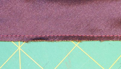 """edge, machine stitched and trimmed to 1/8"""""""