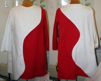 muslin #10, eliminating the collar