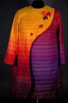 Autumn Splendor- front - on dress form