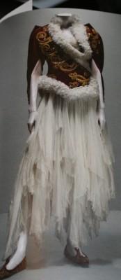 an Alexander McQueen design
