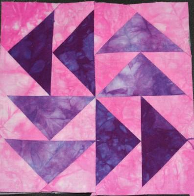 dutchman's puzzle quilt square