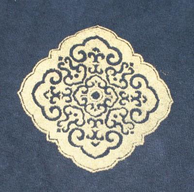 single sweatpants motif