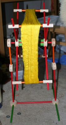 Japanese-style Tinkertoy swift, 2nd attempt - front view