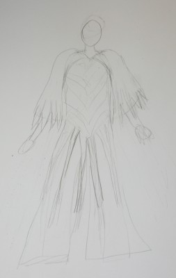 rough concept sketch