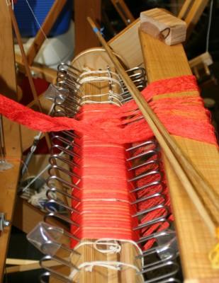 beamed-on warp for Phoenix Rising sample