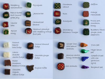 Tien's chocolates for 2012