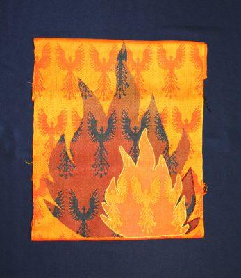 phoenix wall hanging, short version