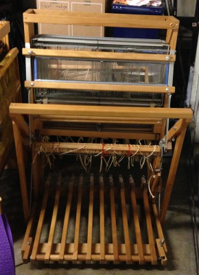 Hypatia, the 8-shaft Leclerc Minerva loom