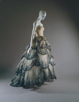 "Christian Dior dress, ""Junon"""