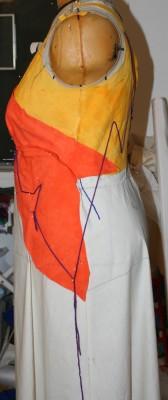 muslin, left side