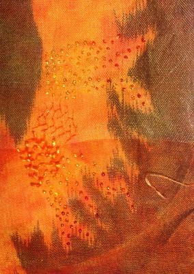 closeup of embellishment samples