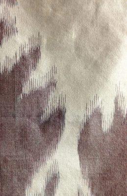 Closeup of the woven sample