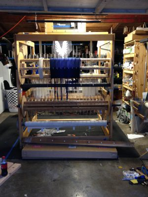 nearly-assembled loom!