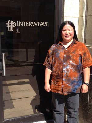 Tien at Interweave Press