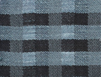 woven sample - black and dark gray