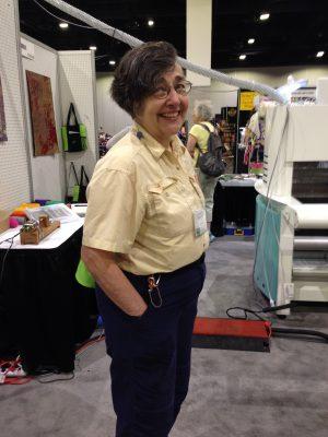 Nancy Tepas - my weaving mom