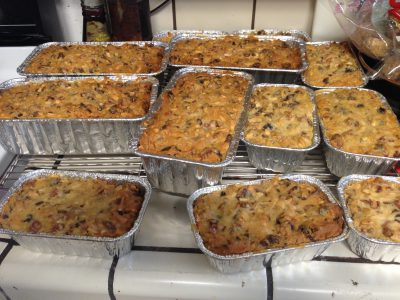 Fully baked fruitcakes!