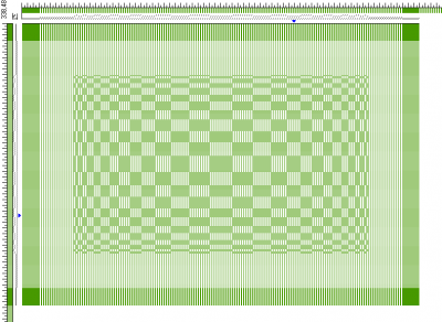 placemat for Handwoven contest