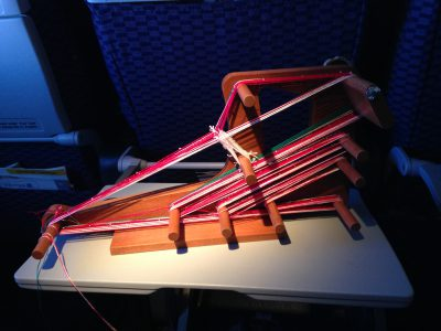 warped inkle loom