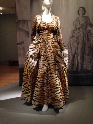 """The Tigress"" evening ensemble, by Gilbert Adrian"