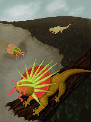 semi-final version of the sonic salamander