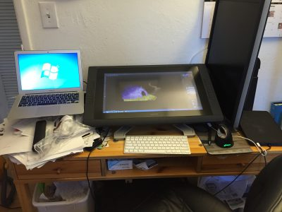 Wacom Cintiq 22HD monitor/tablet