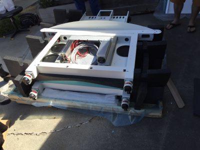 Side frames for the TC-2 jacquard loom