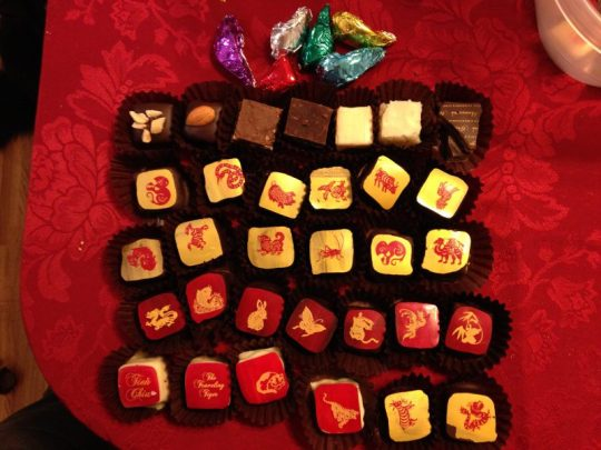 2014 chocolates collection