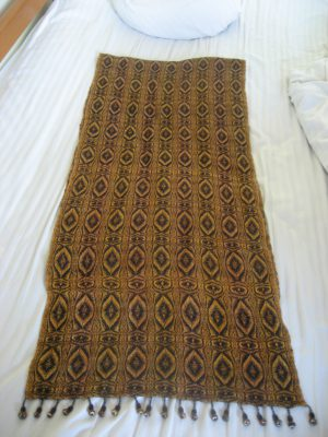 Tiger Eye shawl