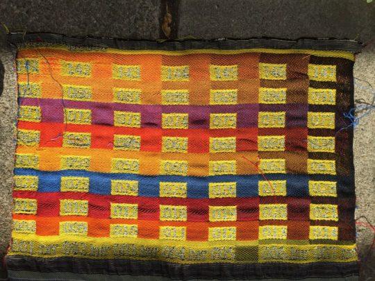 weave blanket for phoenix piece