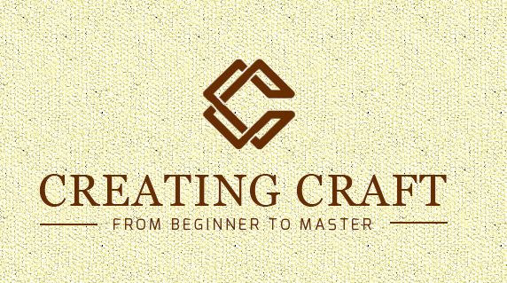 """Creating Craft"" logo"