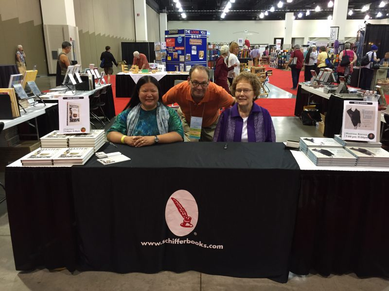 The Schiffer Publishing booth at Convergence