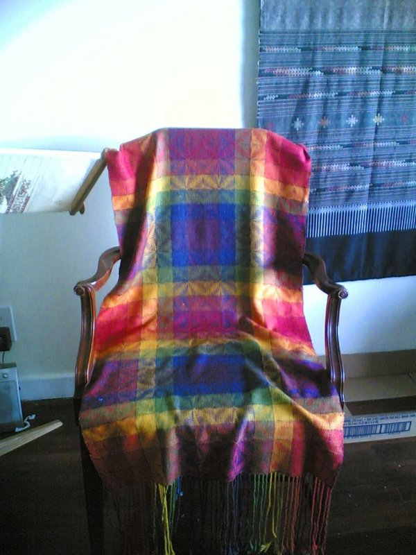 My first weaving project