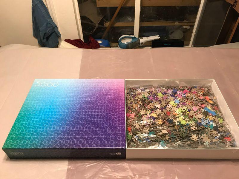 Clemens Habicht's 5000 Colours puzzle