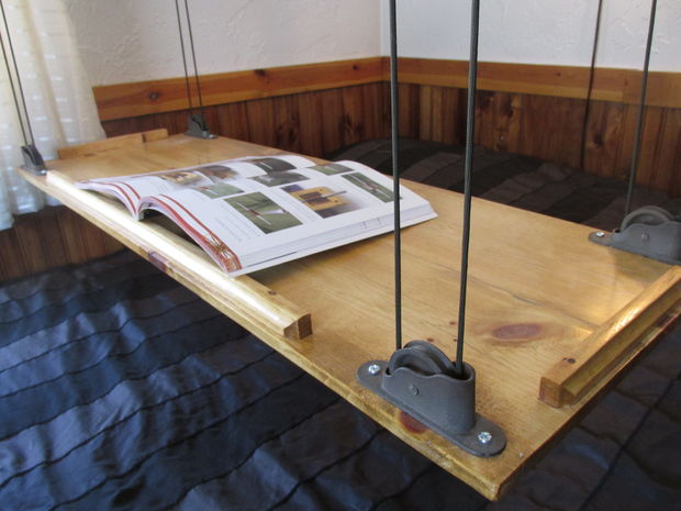 Paracord and Pulley Table - by Matt2 Silver on Instructables