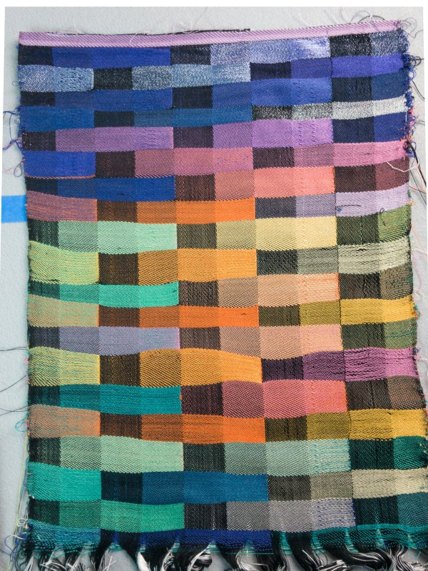 Finished sample blanket