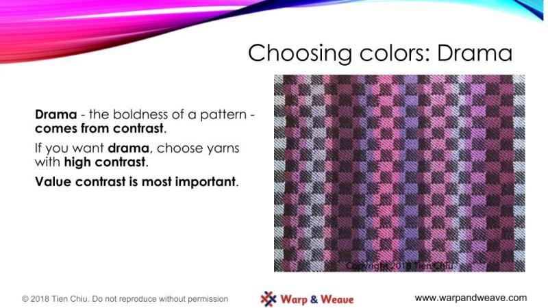 Designing with Color - design process slide #3