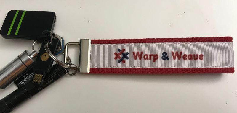 Warp & Weave keychain