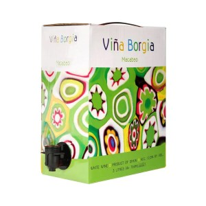 Viña Borgia Blanco 3 litros (bag in box)